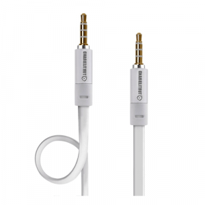 Turtle Brand AUX Cable with 3.5mm Audio Jack 1.2m – White